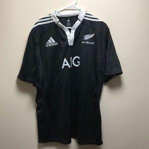 XXL Adidas New Zealand Rugby Club Team Jersey